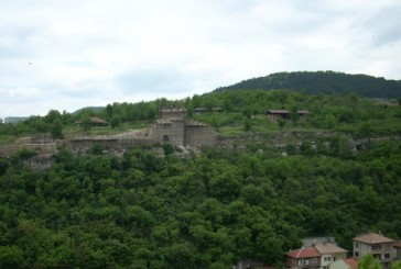 The fortress on Trapezitsa Hill