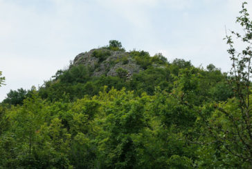 Remains of a Thracian fortress (on Kamuka Hill)