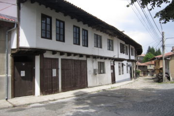 The five Razsoukanovs houses